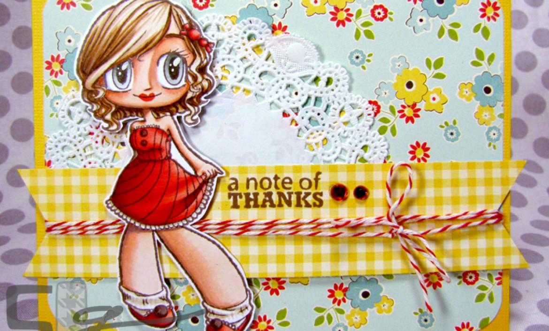 A Note of Thanks | Kristy Dalman