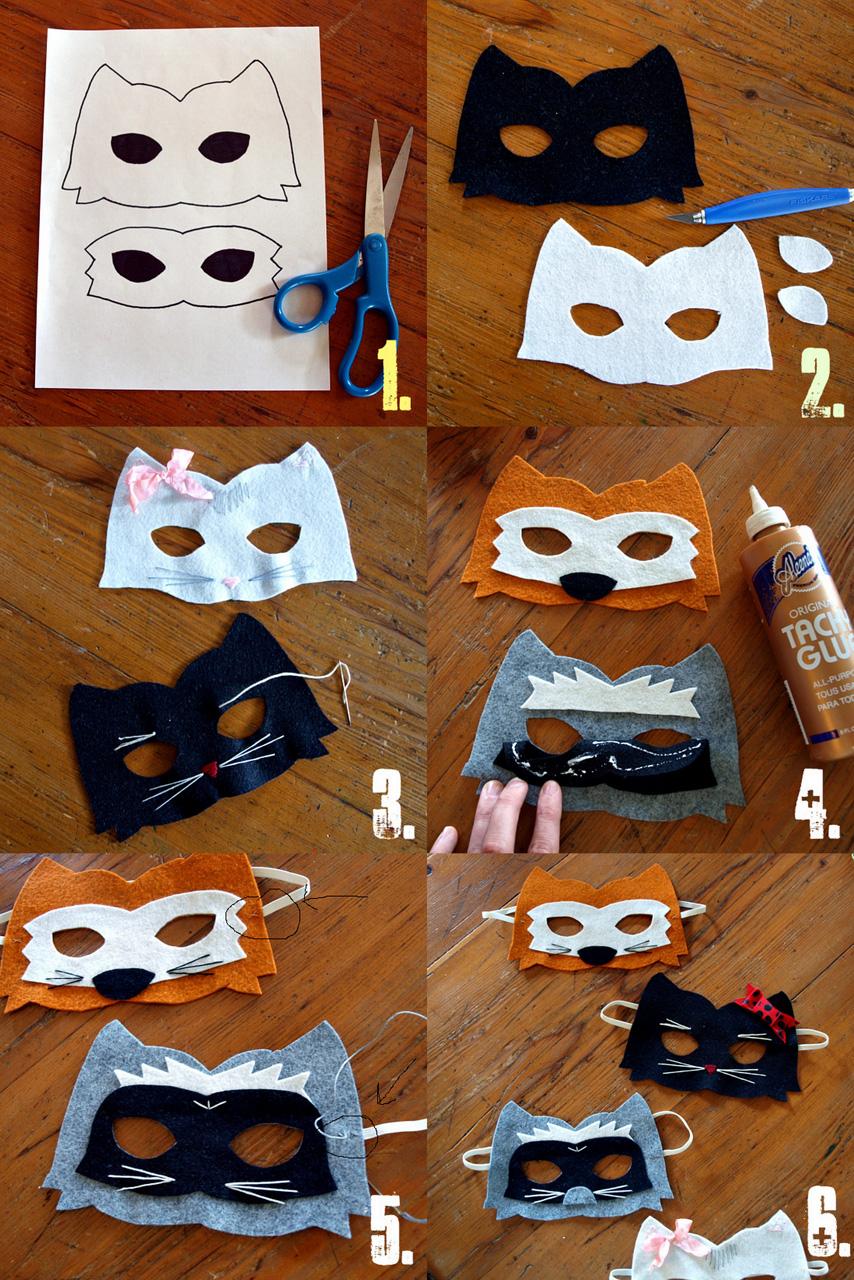 Diy Felt Dog Mask: Easy Kids Crafts