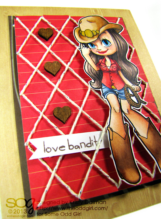 close-up-Kristy-Dalman-Some-Odd-Girl-stamps-Love-Bandit-with-Cowgirl-Mae