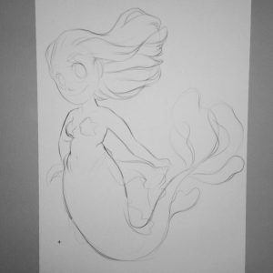 Working on a new Mermaid for MerMay This is ahellip
