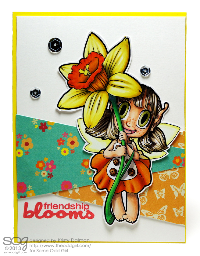 Daffodil-Friends-Kristy-Dalman-Some-Odd-Girl-stamps-Digital-Stamp-Daffodil-Fairy