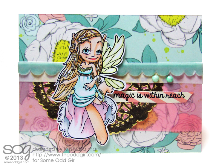 Flutter-Fairy-Kristy-Dalman-Some-Odd-Girl-stamps