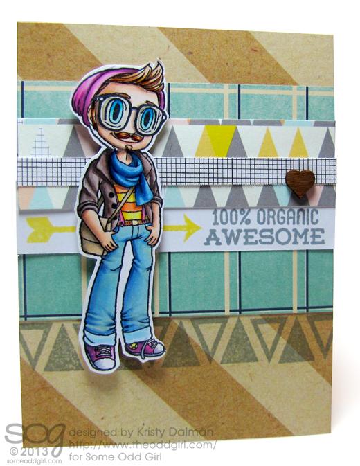 Hipster-Kody-Kristy-Dalman-Some-Odd-Girl-stamps