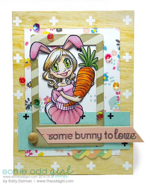 Bunny-Girl-Gwen-Kristy-Dalman-Some-Odd-Girl-stamps