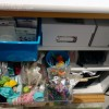 My New Office/Studio: Part 2, Bottom Cabinets Odds & Ends details