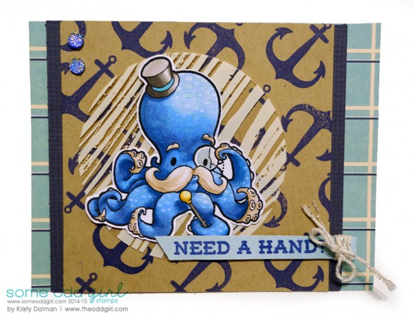 Mr-Octopus-Need-a-Hand-Kristy-Dalman-Some-Odd-Girl-stamps