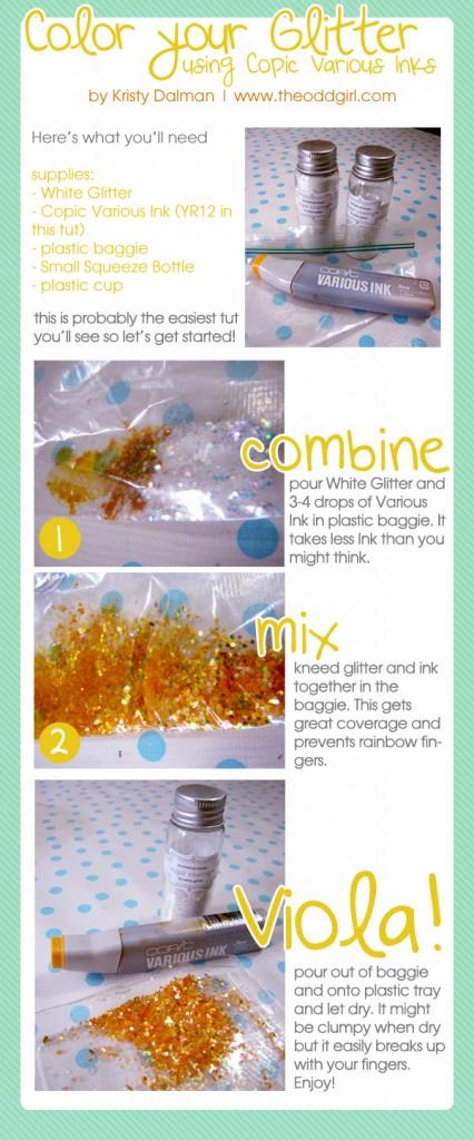 glitter-dye