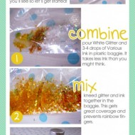Dye your Glitter with Copic Various Inks