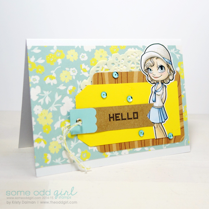 Hello-using-1920s-Gwen-Digi-Stamp-by-Kristy-Dalman-for-Some-Odd-Girl-stamps