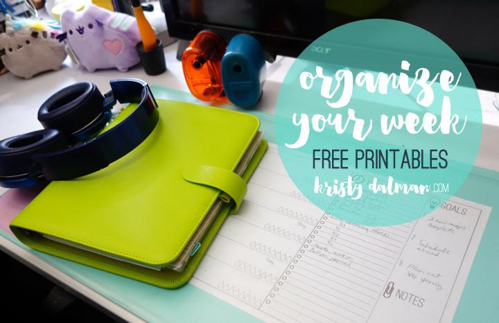 organization-printables