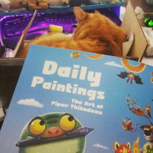 So excited to finally have this book from piperdraws inhellip
